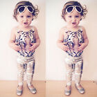 Kids Girls One Piece Tiger Bikini Swimwear Swimsuit Bathing Suit Beachwear #el