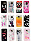 For Samsung Galaxy Pictorial Rubber Soft TPU Silicone Excellent Back Case Cover