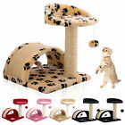 Cat Tree Scratcher Kitten Scratch Post Toy Scratching Activity Centre Sisal Bed