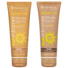 RIMMEL SUN SHIMMER INSTANT TAN LIGHT DARK SHIMMER BODY & FACE 125ML