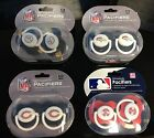 Baby Fanatic Pacifier 2 Pack Set Infant BPA Free NFL MLB Sport Fan