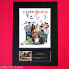 MODERN FAMILY Mounted Signed Photo Reproduction Autograph Print A4 284