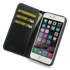 For Apple iPhone 6s 6 Plus PDair Genuine Leather Book Stand Wallet Sleeve Case