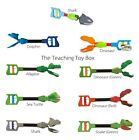 Kids Grabber Shark Alligator Claw or Dinosaur Fine Motor Hand Toy