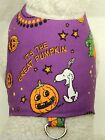 DOG/CAT/FERRET Custom Travel Harness~HALLOWEEN Holiday SNOOPY PUMPKIN Patch