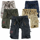SURPLUS Raw Vintage ROYAL SHORTS Premium Kurze Hose Bermuda US ARMY Cargohose