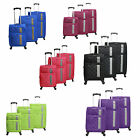 American Green Travel Featherlight 3-Piece Spinner Luggage Set