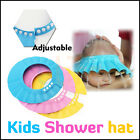 Adjustable Baby Kids Shampoo Bath Bathing Shower Cap Hat Wash Hair Shield Soft