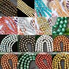 Cultured Rice Oval Fresh Water Pearl Loose Freeform DIY Bead Charm Craft Finding