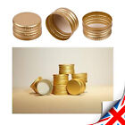 New Gold Metal Screw Caps For Glass Bottle 28mm-Very Good Seal - MIX and Pick