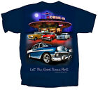 Joe Blow Men's Chevy Bel Air Tri-Five Retro Drive-in T-Shirt