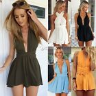NEW Sexy Womens Backless Sleeveless Party Jumpsuit Playsuit Romper Beach Dresses