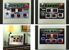 Choose Your NFL Football Team Scoreboard Desk Alarm Clock w/ Temperature & Date