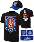 John Cena Kids HLR Boys Costume T-shirt Hat Wristbands