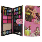 Pink Wallet CaseMakeup Palette Kit 21 Eyeshadow 4 Blusher 1 powder with Brush