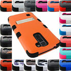 FOR LG PHONE MODELS SHOCKPROOF TUFF CASE RUGGED ARMOR STAND COVER+STYLUS