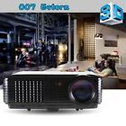 4500 Lumens LED Projector Home Theater USB TV 3D HD 1080P Business VGA/HDMI
