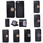 For HTC LG Nokia Luxury Leather Coin Moneda ID Card Slots+Photo Frame Case Cover