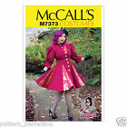 McCall's 7373 Paper Sewing Pattern to MAKE Cosplay Fitted & Flared Coat Godets