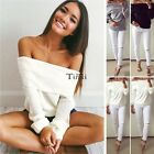 Latest Womens Fall Cotton T shirt Long Sleeve Crew Neck Casual Beach Dress Top