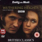 WUTHERING HEIGHTS - DISC 1 of 2  - BRITISH CLASSICS - MAIL PROMO DVD