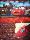 """8 or 10 pd TWIN WEIGHTED blanket """"DISNEY CARS""""  autism SENSORY adhd FREE pillow"""