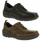 Mens Hush Puppies Baxter Belfast Casual Lace Up Leather Shoes Sizes 7 to 11