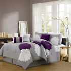 7 Piece Provence Embroidered Comforter Set