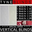 **Bargain** special offer VERTICAL BLINDS ( headrail track & slats) ZARA