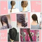 Magic Braiders Hair Women Girls Twist Styling Clip Stick Bun Maker Braid Tools