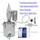 18L/25L/65L Stainless Alcohol Distiller Easy Use for Home Beer Rice Wine Making