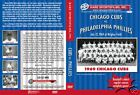 1969 Cubs vs Phils at Wrigley Field (Jenkins) on DVD!