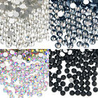 1440 pcs(10 Gross) Top Quality Glass Crystal No-HotFix Flatback Rhinestone DIY