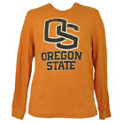 NCAA Oregon State Beavers Mens Thermal Pullover Shirt Long Sleeve Crew Neck