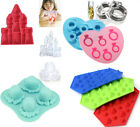 Multi Shaped Silicone Ice Cube Tray Freeze Mould Jelly Pudding Chocolate Mold