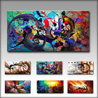 VnArtist / TOP LEINWAND KUNSTDRUCK BILDER DIGITAL WANDBILD ABSTRAKT A2