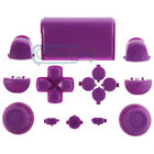 Buttons Kit for PS4 Controller Custom Replacement Parts Chrome Gloss Solid Color