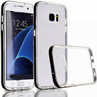 Shockproof TPU Bumper Frame Soft Case Clear Cover For Samsung Galaxy S7 edge