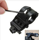 "1"" / 30mm Offset Scope Ring with 20mm QD Rail Mount for Scopes/Laser/Flashlight"