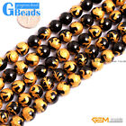 Black Onyx Agate Carved Buddhist Mala Round Beads Free Shipping 10mm 12mm 14mm