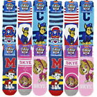 6 Pairs Official Boys Girls Paw Patrol Socks Shoe Sizes 3-5, 6-8 & 9-12