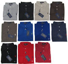 Ralph Lauren Mens Slim Custom Fit Mesh Long Sleeve Pony Logo Polo Rugby Shirt
