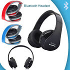 Foldable Wireless Bluetooth Headset Stereo Headphones Earphones for Smartphones