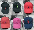 NWT Polo Ralph Lauren Pony Logo One Size Adjustable Baseball Cap Golf Hat