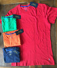 NWT Men's Polo Ralph Lauren Jersey Crew Neck Tee Cotton Pony All Over  S M L XL