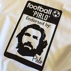 Andrea Pirlo Juventus Originals football 80's Casuals inspired t-shirt