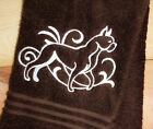 Graceful Boxer Towels~ Embroidered Dog Towels~ Towel sets~ gifts for dog lovers