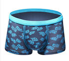 1PCS Mens Sexy Butterfly Printing Boxer Underwear