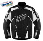 ARCTIVA Men's Gray & Black COMP 7 INSULATED Winter Snowmobile Jacket