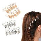10 Pcs Leaves Clip Dreadlock Hair Accessories Hoop Circle Updo Hairpin Barrette